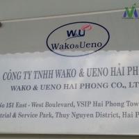 Làm sạch hàng ngày Công ty Wako & Ueno, khu công nghiệp VSIP