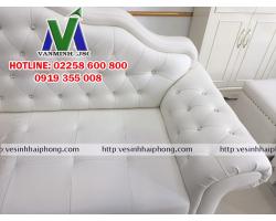 Giặt ghế sofa tại Hải Phòng