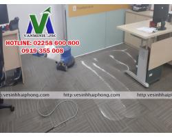 Giặt thảm văn phòng giá rẻ tại Hải Phòng