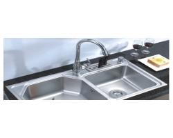 Làm sạch chậu rửa và vòi nước