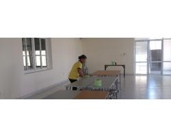 Tạp vụ làm việc tại Công ty Kansai Felt Việt Nam, khu công nghiệp Tràng Duệ