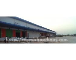 Vệ sinh nhà xưởng Hai Phong Logistics Park, khu công nghiệp VSIP
