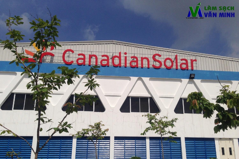 Cung cấp nhân viên dọn vệ sinh tại Công ty Canadian Solar, khu công nghiệp VSIP