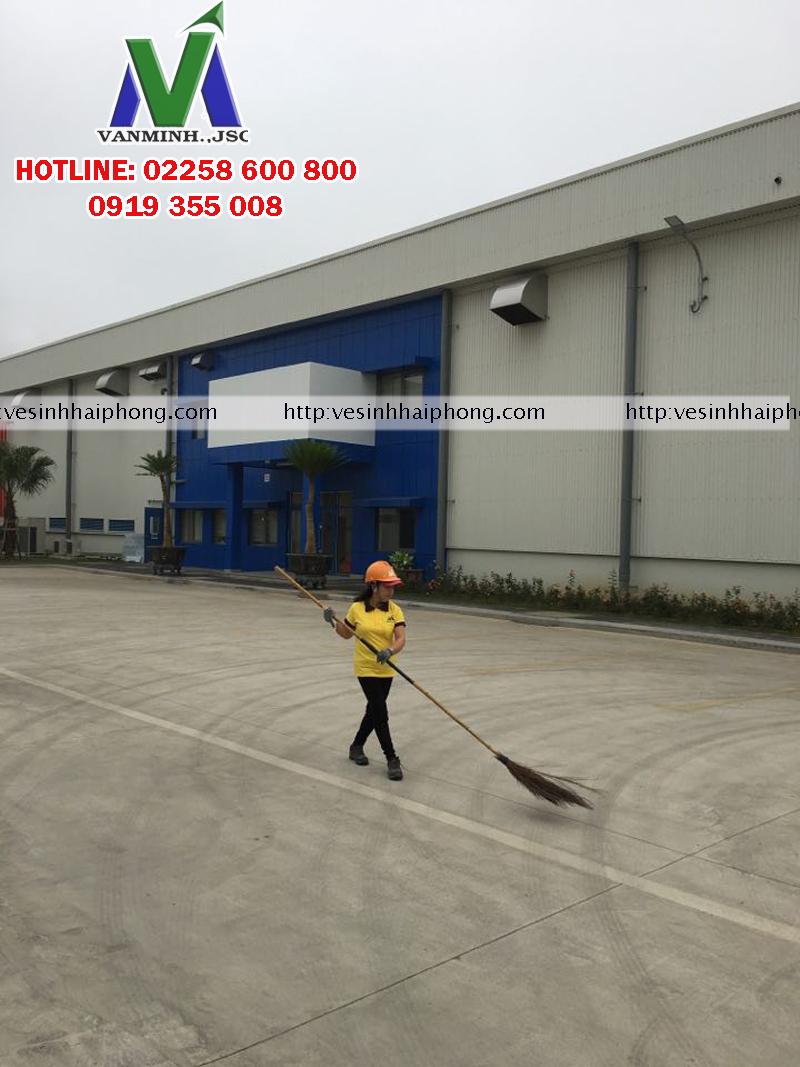 Cung cấp tạp vụ tại Công ty TNHH VLXD Saint – Gobain Bắc Việt Nam