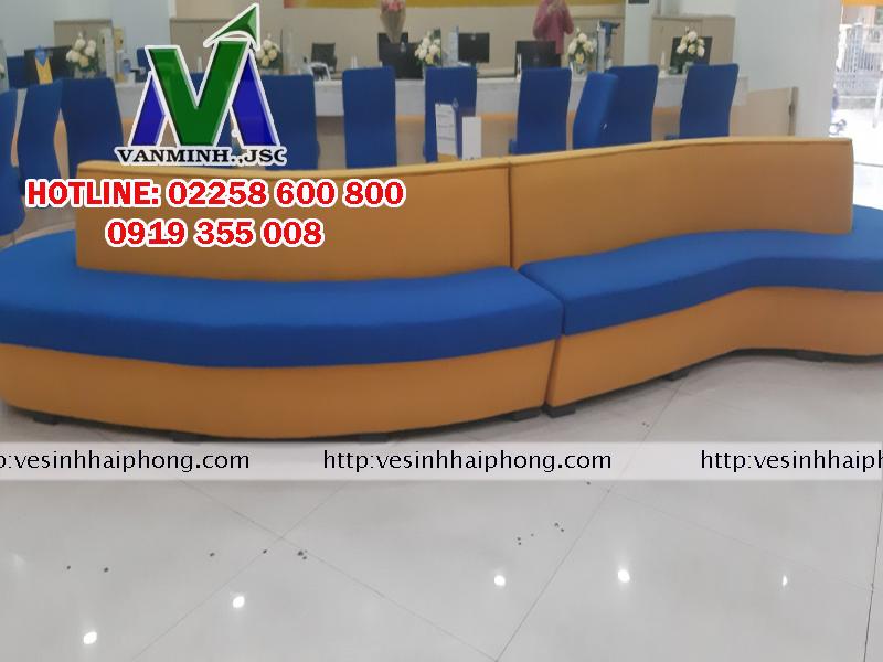 Giặt ghế sofa giá rẻ tại Hải Phòng