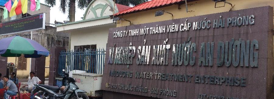 Giặt ghế văn phòng tại nhà máy nước An Dương, 249 Tôn Đức Thắng, Hải Phòng