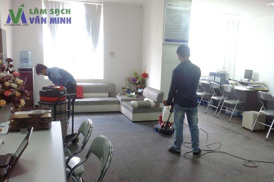 Giặt thảm trải sàn