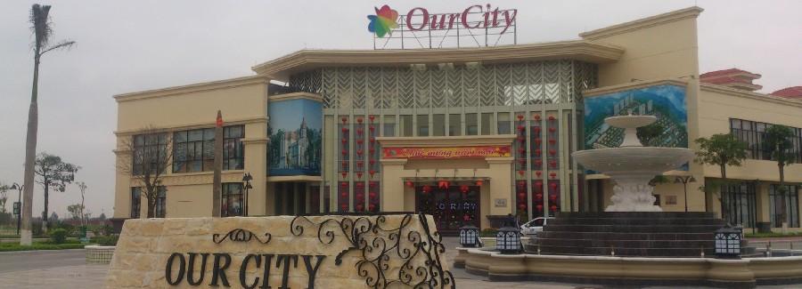 Vệ sinh hàng ngày khu đô thị Our City, Hải Phòng