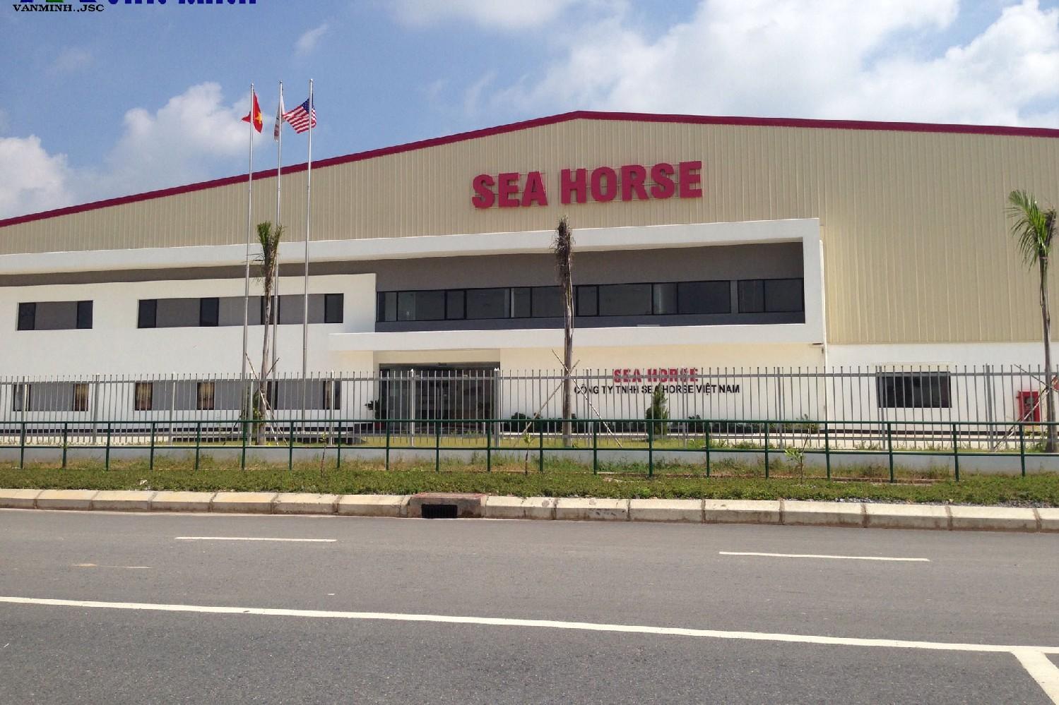 Vệ sinh nhà xưởng Sea Horse, khu công nghiệp VSIP Hải Phòng